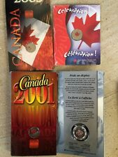 CANADA 2000 Pride 2001 Spirit 2003 Canada Day 2004 Celebration Quarters 25 Cents