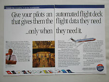 4/1990 PUB FOKKER 100 USAIR AIRLINE ED SLOMKA TAT TAM GPA AA ORIGINAL AD