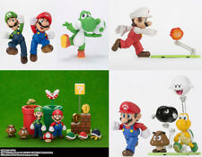 Nintendo Mario 4 Characters and 4 Diorama S.H.Figuarts Playing Set