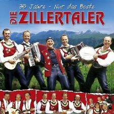 """DIE ZILLERTALER """"35 JAHRE-DAS BESTE"""" 2 CD NEUWARE"""