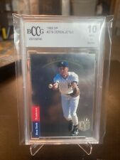 🔥1993 SP Derek Jeter BCCG 10!This card will Only Go Up Induction 09/08/21 HOF🔥