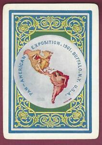 Pan American Exposition Playing Card, Buffalo, New York, 1901