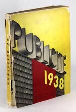 1938 Publicite Arts Et Metiers A M Cassandre Modern Design Graphic Arts History