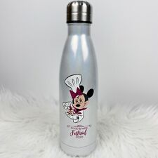 New ListingNew Disney Epcot 2020 Food Wine Festival Minnie Queen Of Cuisine Water Bottle