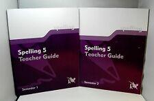 K12 Spelling 5 - Teacher Guide / Semester 1 & 2
