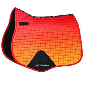Weatherbeeta Prime OMBRE Jump GP Dressage Saddle Pad Cloth Matchy Autumn Glow