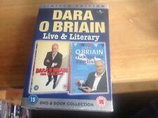 Dara O Briain - Live & Literary (Book + DVD