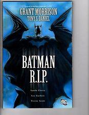 Batman R.I.P. DC Comics Graphic Novel TPB Grant Morrison 1st Print 2010 LH9