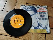 "david bowie space oddity 7"" vinyl record good condition"