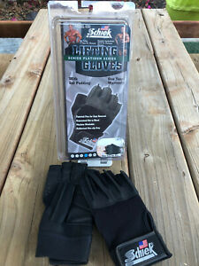 Schiek Sports Platinum 530 Wrist Lifting Gloves - Size L - Brand New!