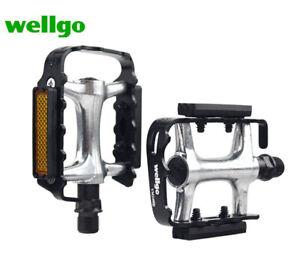 WELLGO VM248-DU Aluminum Alloy Bicycle bike Foot Pedal (Pair)