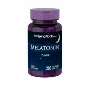 MELATONINA 5 mg - MEJOR DESCANSO , MEJOR VIDA - 200 cps