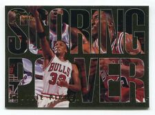 1994-95 Flair Scoring Power Scottie Pippen #6 CHICAGO BULLS