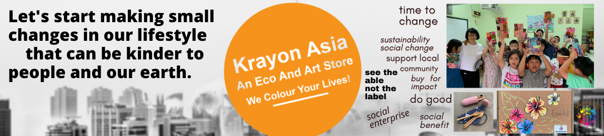 Krayon.Asia, an eco and art store.