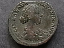 LUCILLA - Wife of L.Verus. A.D.161-69, Sestertius. Rev-Venus standing left..aVF
