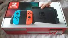 Nintendo Switch 32 GB Consola Gris (con Neón Rojo/Azul Neón Joy-Controller)