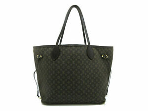 Auth LOUIS VUITTON Monogram Idylle Neverfull MM M40513 Tote Bag Leather 73874
