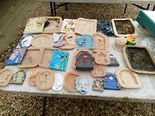 18 New latex moulds,  Fairy unicorns ,doors,plaques, job lot🦄🦄🦄