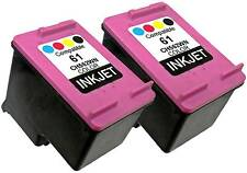 2PK FOR HP 61 CH562WN (New Gen) Deskjet 2543 2544 2546p 2546b 2547 2549 3000