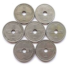 More details for norway 1 krone x 7: dates 1925, 1927 (rare) 1939, 1940, 1946, 1949 + 1951, vf-ef