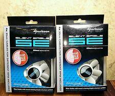 Lot of 2 Sharkoon Silent Eagle SE 80mm Computer Case/CPU Fan 3/4 Pin 7V, 9V, 12V