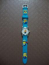 Kids Despicable Me Minion Analogue (BlueC) Silicone Band wrist watch BRAND NEW