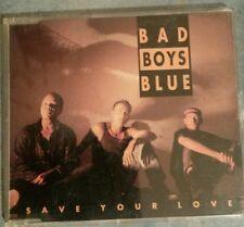 BAD BOYS BLUE SAVE YOUR LOVE MAXI CD 4TRACKS