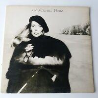 Joni Mitchell - Hejira - Vinyle LP GB 1st Press + Intérieur en Relief Gatefold