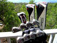Titleist Golf Complete Club Set Driver Fairway Hybrid Irons Wedges All Club Set