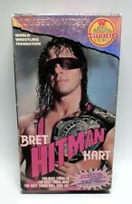 """Bret """"Hitman"""" Hart WWF VHS - Coliseum Video - The Best There Is... - Very Rare!"""