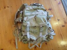 dcu desert tri-color 3 day molle II assault pack w/extras