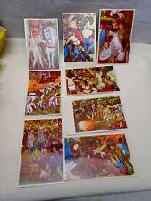 8 Postcard Mexico Mural Fresco of De Diego Rivera Palacio De Cortes Cuernavaca