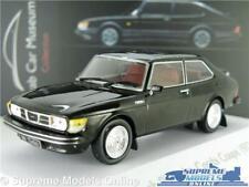 SAAB 99 TURBO MODEL CAR BLACK MUSEUM 1977 COUPE 1:43 SCALE IXO ATLAS 3898003 K8