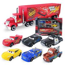 Disney Pixar Car No.95 Mack Truck Lightning McQueen Toy Racer Car 6pc Set Xmas