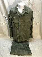 Vintage East German Military Field Combat Camouflage Uniform MediumSG48 UNISSUED