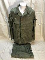 Vintage East German Military Field Combat Camouflage Uniform Medium UNISSUED