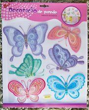 Nursery Children Kid Girl Baby Butterfly Wall Furniture Sticker Decal Bedroom