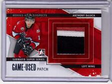 ANTHONY DeLUCA 13/14 ITG Game-Used SILVER Patch Subway Super Series #SSM-01 SP