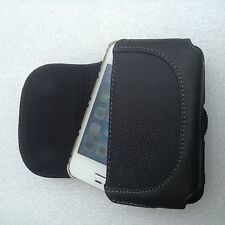 Large Clip-on leather Pouch internal size 128*68*23mm