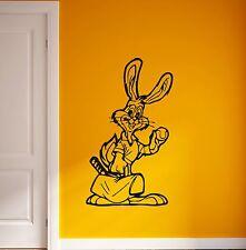 Wall Stickers Vinyl Decal Positive Animal Rabbit for Kids Room Nursery (ig610)