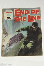 Battle Picture Library Comic, Number 1022, End of the Line, British Pocket