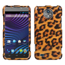 For Sprint Vital ZTE N9810 HARD Protector Case Snap On Phone Cover Leopard