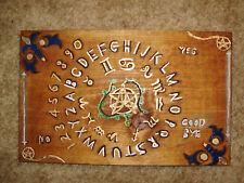 hand made wooden ouija spirit talking board zodiac