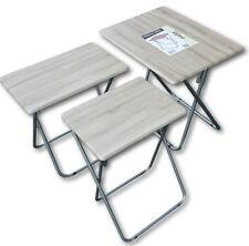 Large TV Table Folding Dinner Desk Table Laptop Multi Function Student Space Small 48cm X 38cm