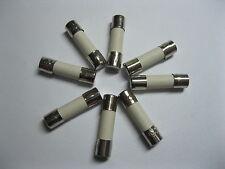 10 Pcs Slow Blow Ceramic Fuse 8A T8A 250V 5mm x 20mm 520