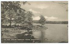 Melrose MA Spot Pond Middlesex Reservation Vintage Postcard
