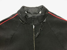 Vintage Ski Jacket Men White Stag Portland Or Athleisure Poly/Wool Black Red M
