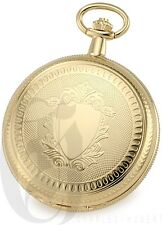 Charles-Hubert Gold-Plated Hunter Case Mechanical Pocket Watch - #3909-G