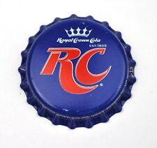 RC ROYAL CROWN COLA est. 1905 TAPPO BOTTIGLIA USA BLU
