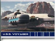 Star Trek Voyager Quotable USS Voyager Chase Card V3